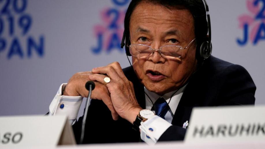 Japan criticizes US digital tax proposal at G20