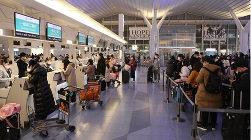 Chinese airlines restart overseas flights