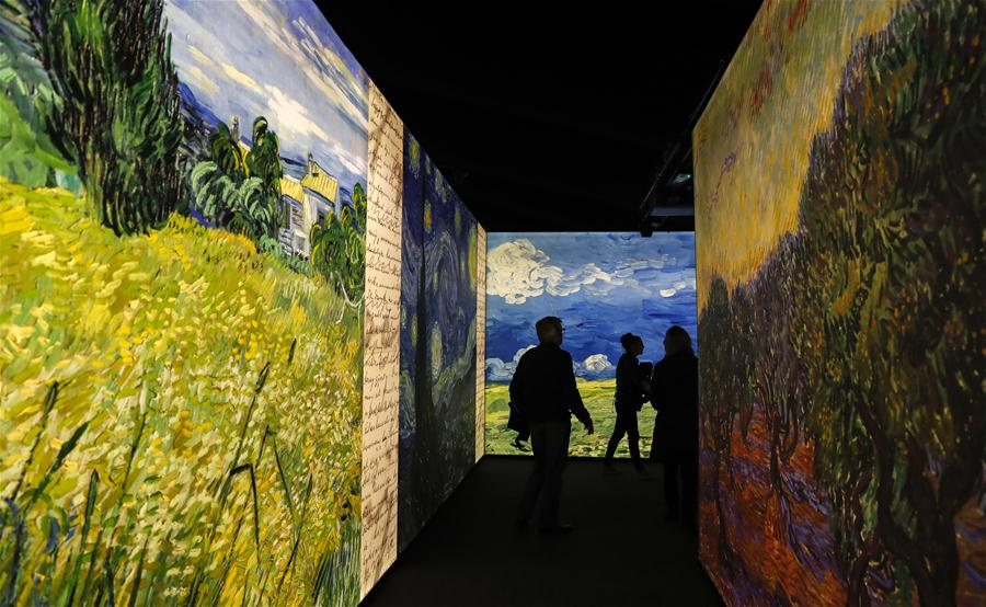 Meet Vincent van Gogh Experience held in London
