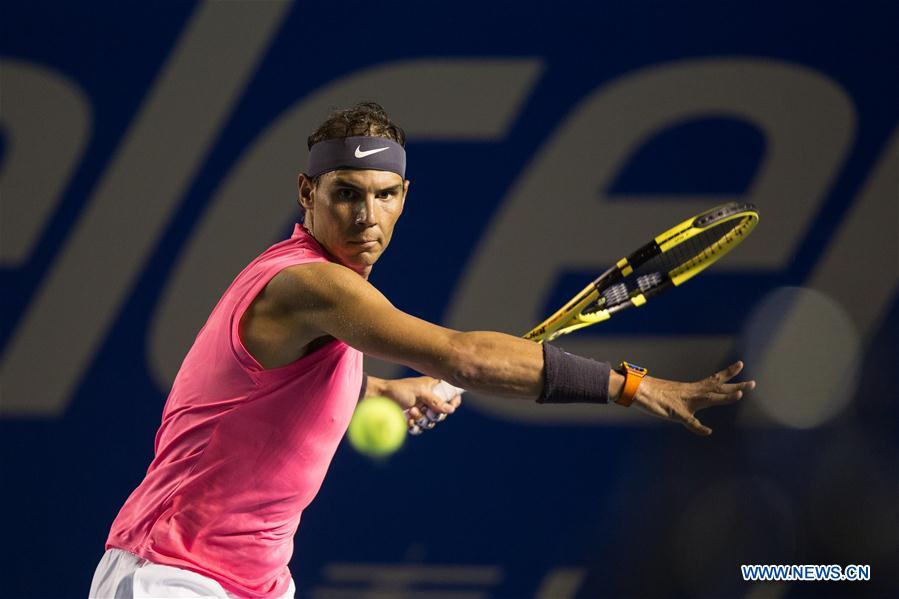 In pics: men's singles 1st round match at 2020 ATP Mexican Open