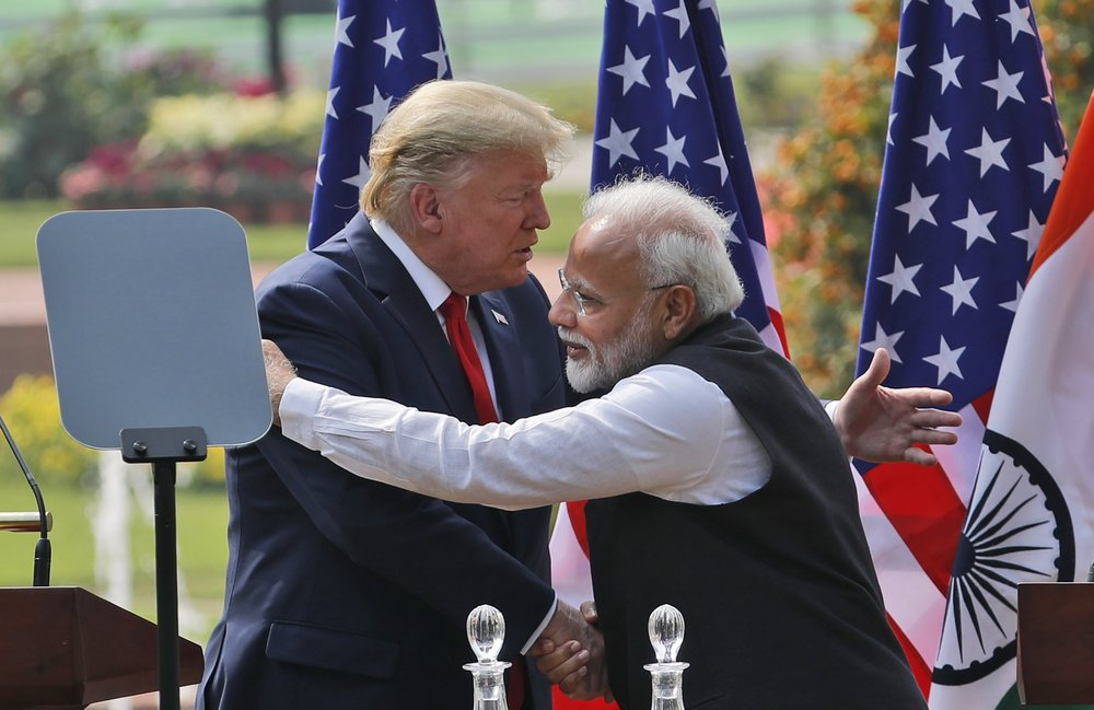 Trump leaves India with $3 bln military equipment sale but no trade deal