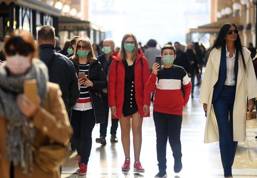 Coronavirus cases in Italy climb to 322