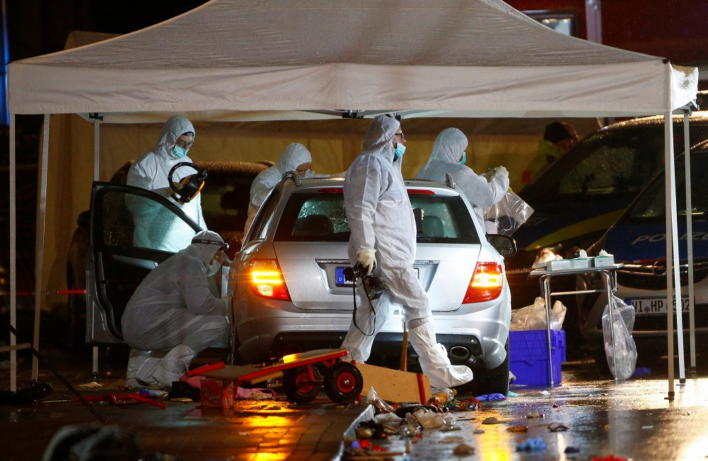 35 hospitalized in Germany after man drives into crowd at Carnival parade