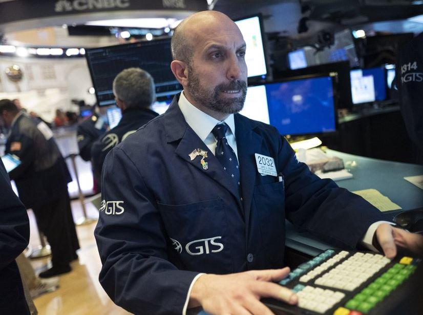 Stocks climb on Wall Street following 2 steep drops