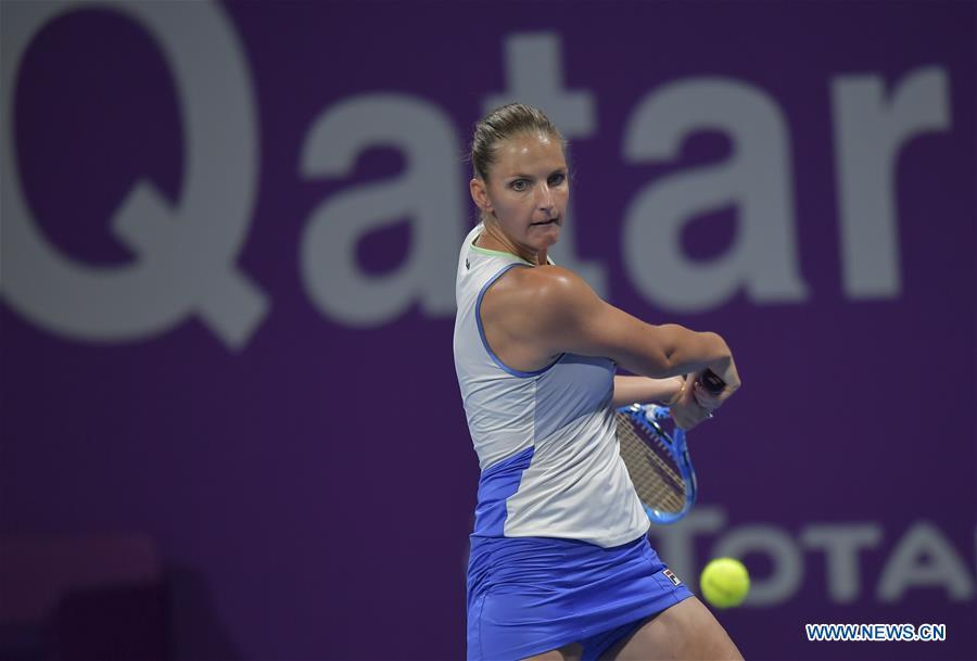 Highlights of women's singles 3rd round match at Qatar Open