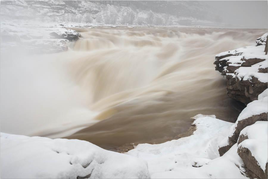 Stunning snow scenery captured in photos