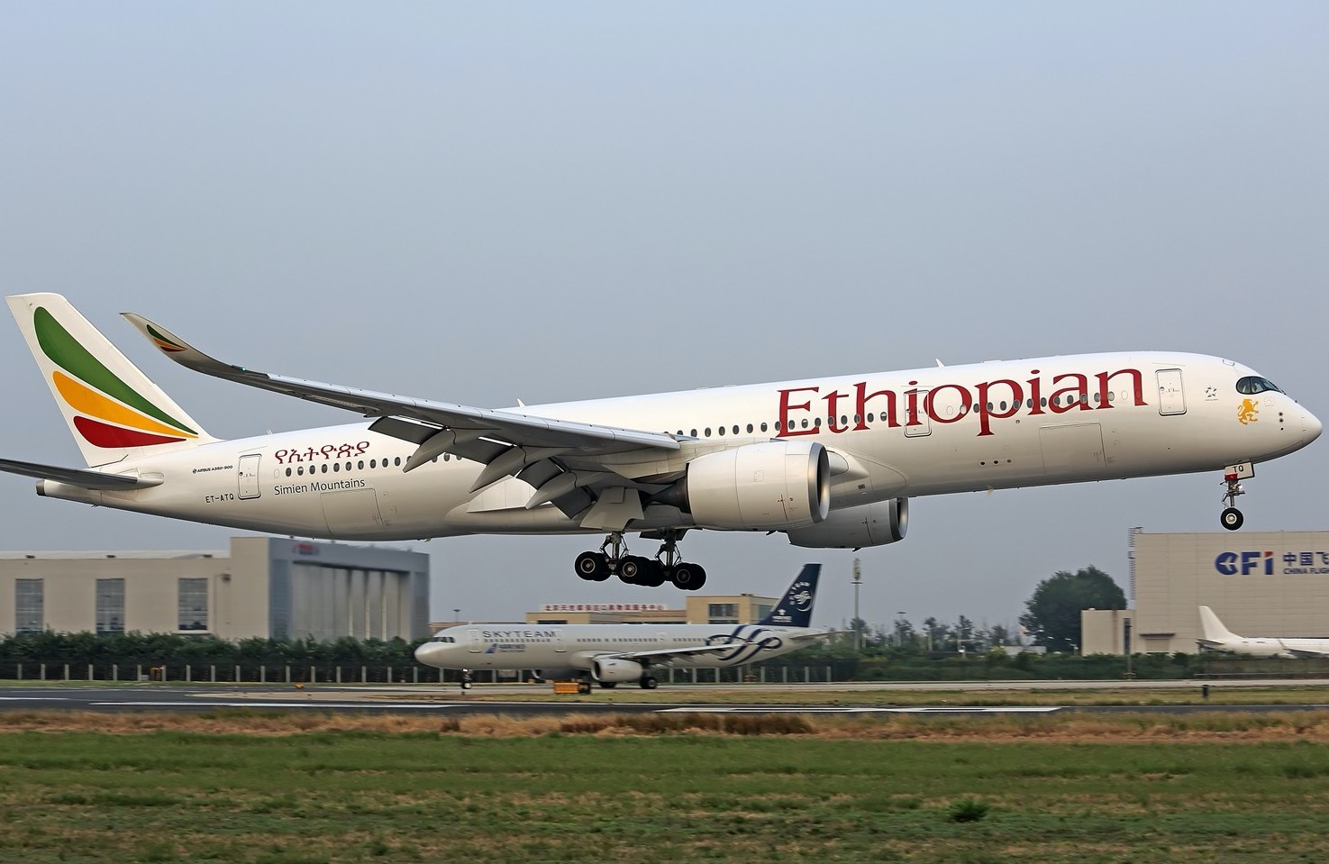 Ethiopian Airlines keeps flights to China