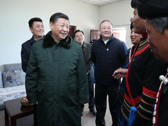 'President Xi visited my home' - Our lives now are very good