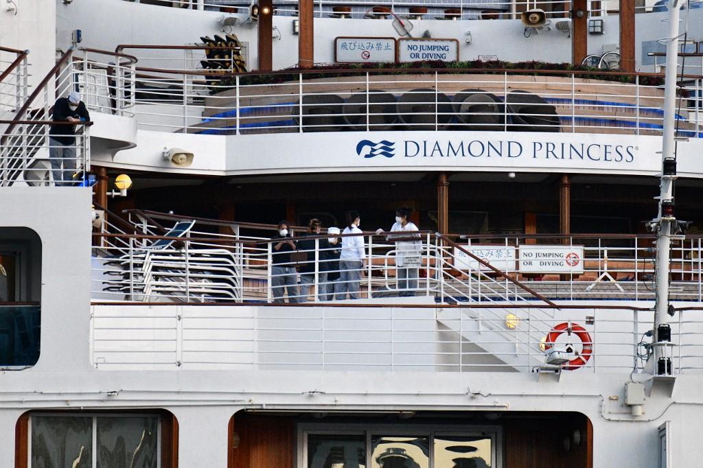 Crew members to start disembarking from virus-hit Diamond Princess in Japan