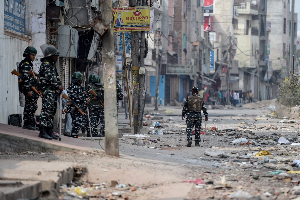 Sporadic violence in Delhi as death toll rises to 33