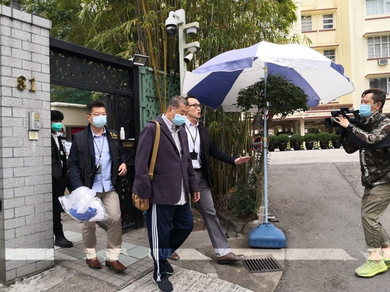 Jimmy Lai, two others arrested by HK police, to appear before court