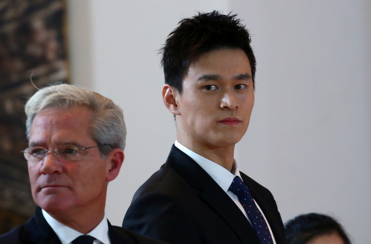 CAS to announce decision on Sun Yang, FINA vs. WADA case on Friday