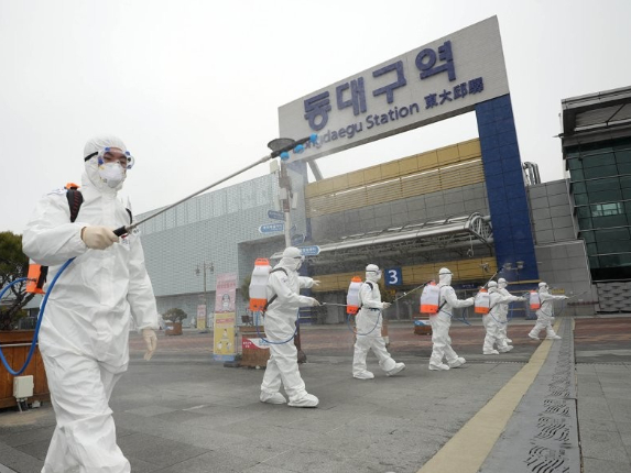 S.Korea confirms 813 more cases of COVID-19, 3,150 in total
