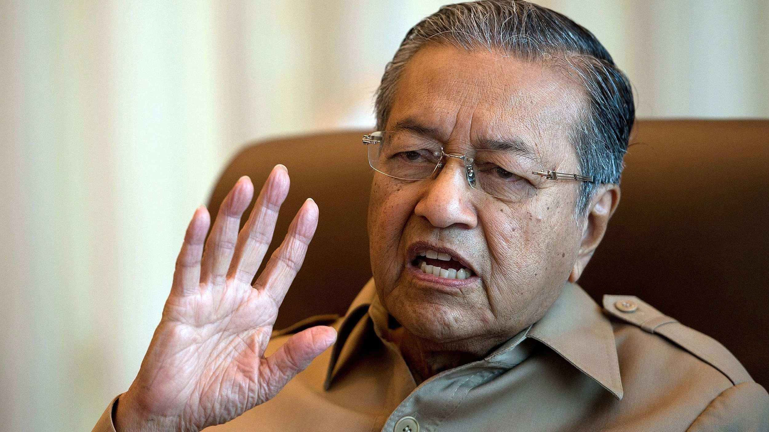Mahathir reemerged as candidate as Malaysia's new prime minister
