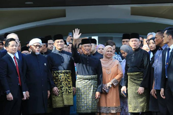 Muhyiddin Yassin sworn in as Malaysia's new prime minister