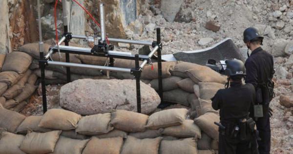 Hong Kong police eliminate wartime bomb