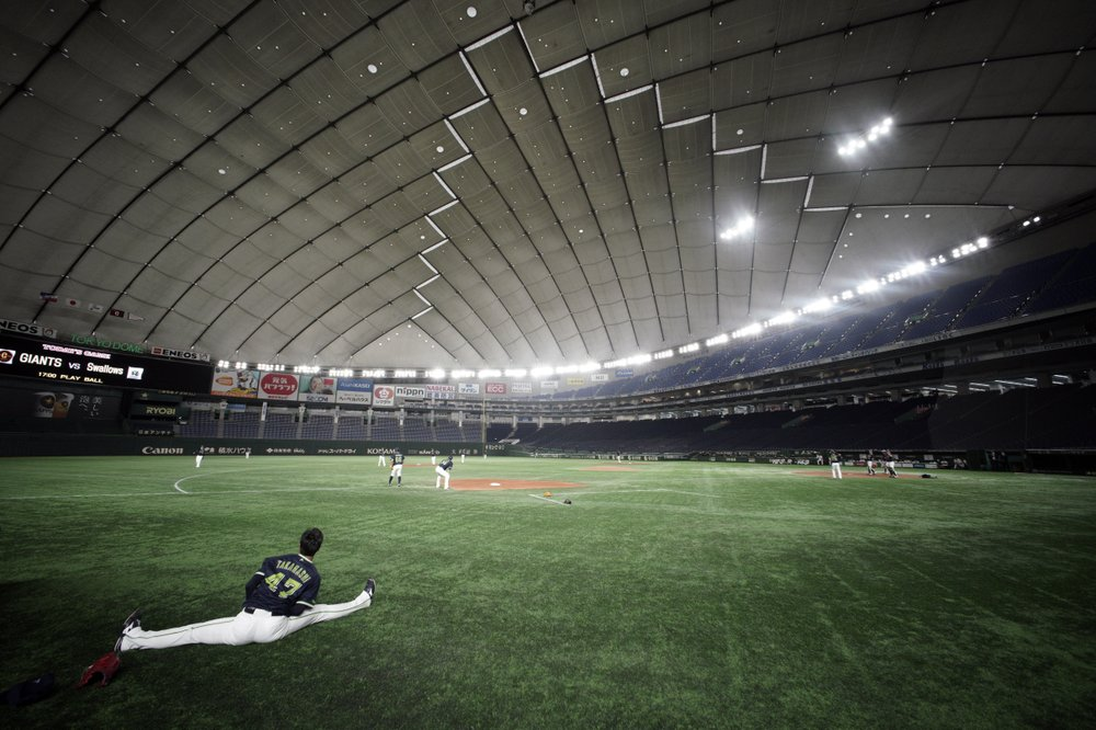 Japan sporting events at empty stadiums amid virus outbreak
