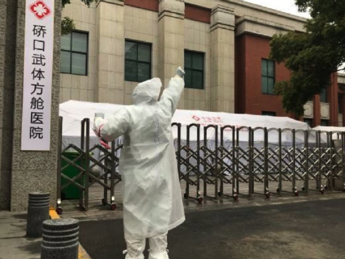 Temporary makeshift hospitals in Wuhan stop admitting COVID-19 infected patients