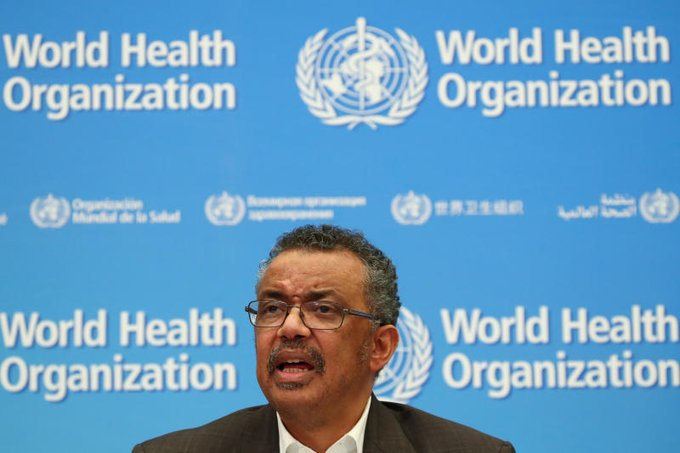 WHO raises global risk of COVID-19 for two reasons: WHO chief