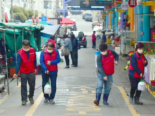 S.Korean president vows to prevail over COVID-19 outbreak