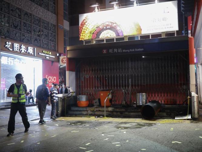 Govt condemns resurgence of violence on HK streets