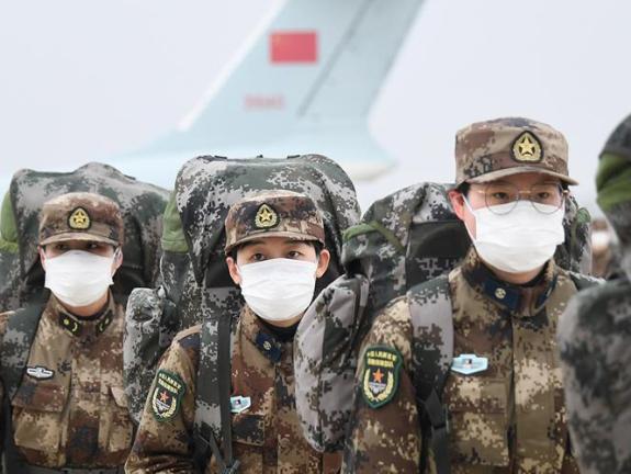 China sends 4,000 military medics to battle coronavirus in Wuhan