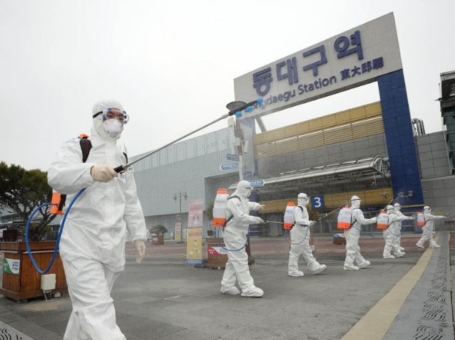 S.Korea confirms 599 more cases of COVID-19, 4,335 in total