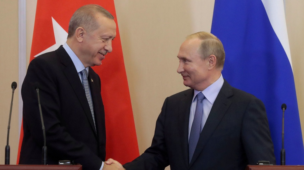 Turkey's Erdogan to visit Russia on Thursday amid Syria tensions