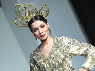 Caftan Mazagan fashion show held in Casablanca, Morocco