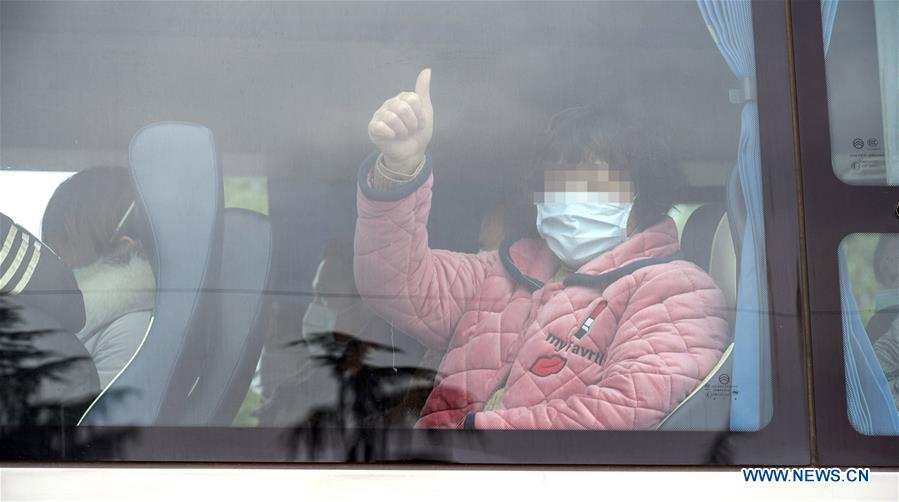 132 COVID-19 patients cured, discharged from 'Wuhan Livingroom'