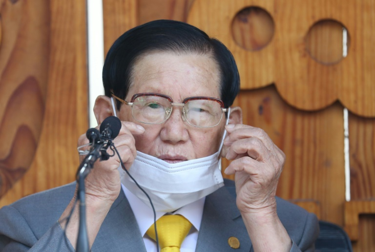 South Korean sect leader apologizes over coronavirus spread