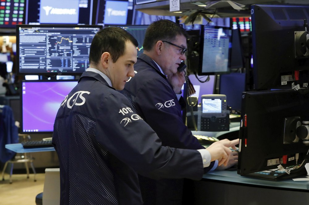 Dow soars nearly 1,300 points, best one-day point gain in history