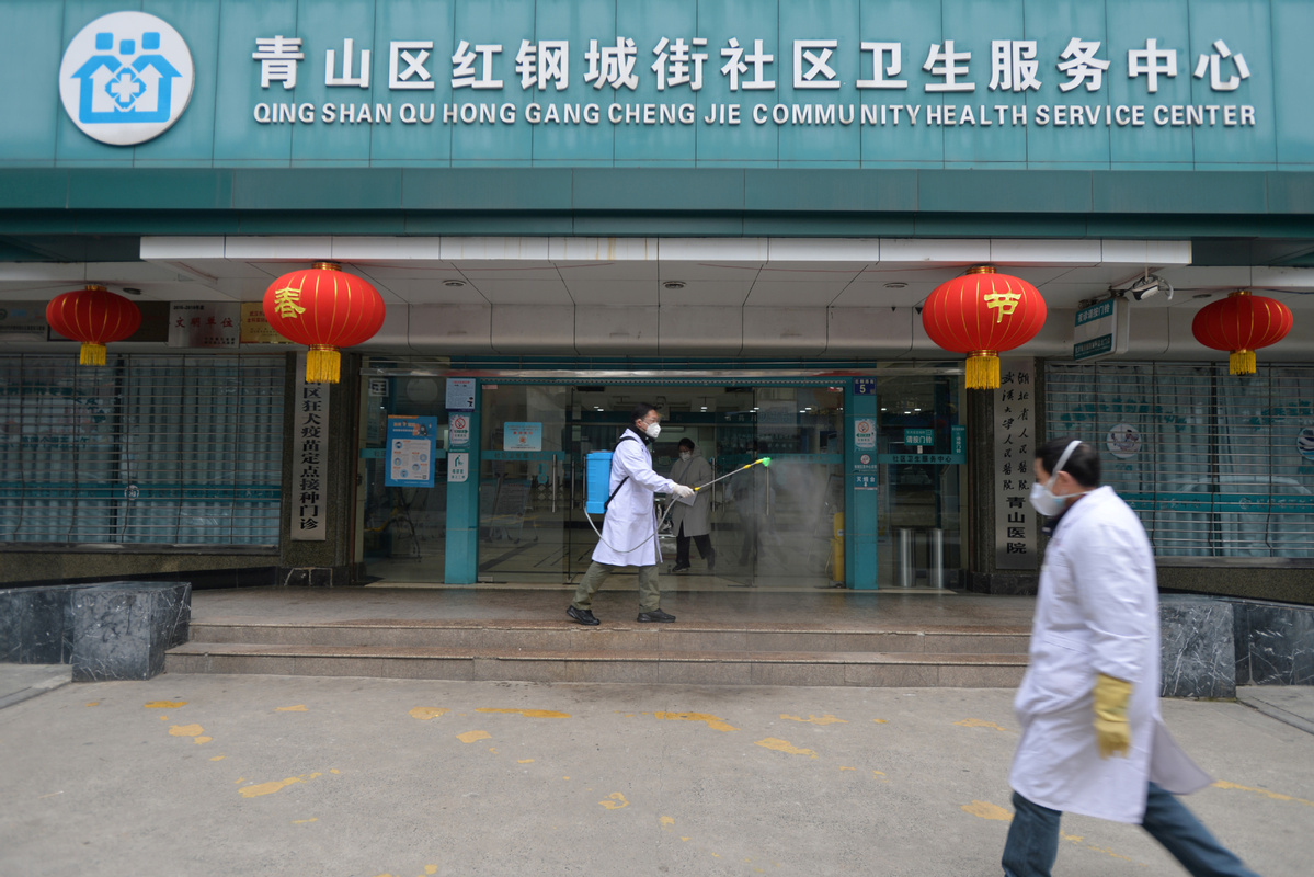 Nurse leaves UK for China to help fight COVID-19