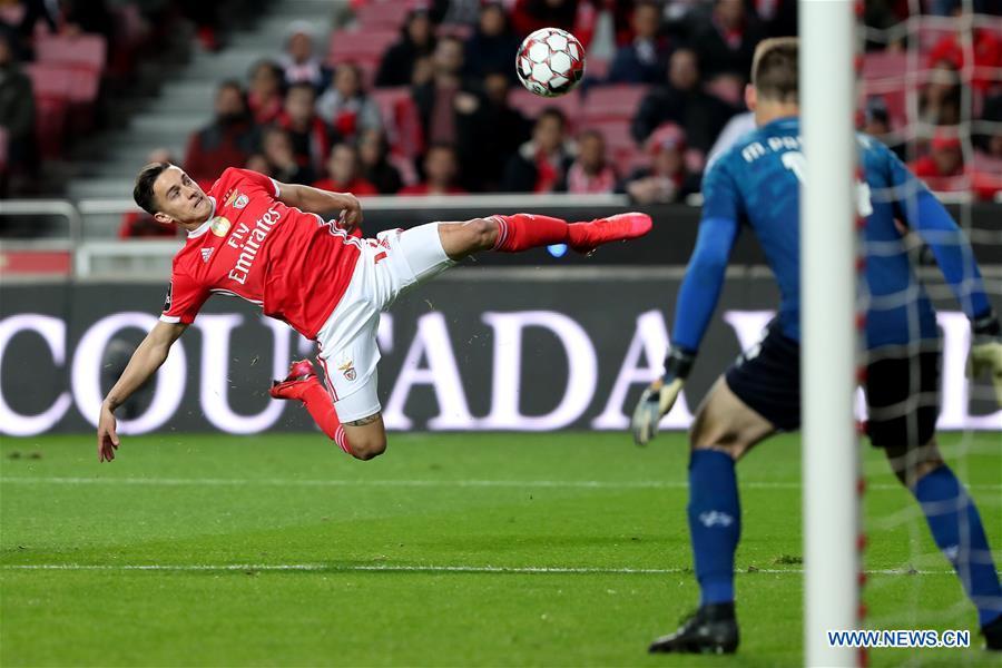 Primeira Liga football match: SL Benfica vs. Moreirense FC
