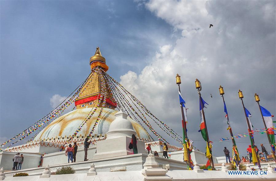 In pics: Boudhanath stupa at Boudha in Kathmandu