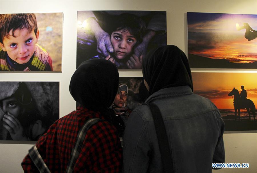 Exhibition 'Eye on Gaza' depicts life in Gaza Strip