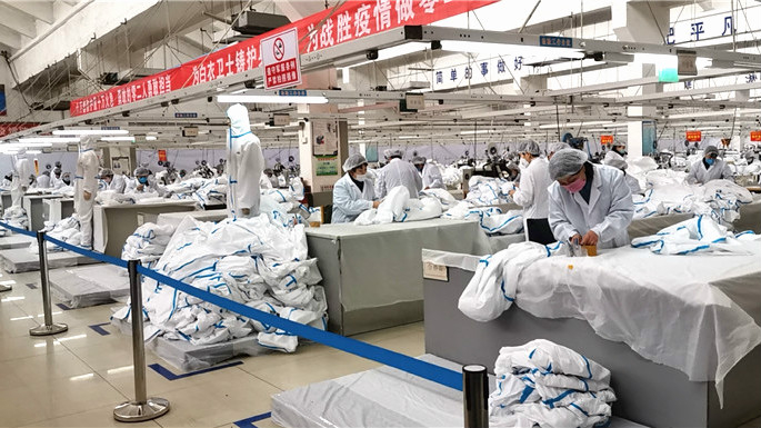 China encourages export of protective clothing: official
