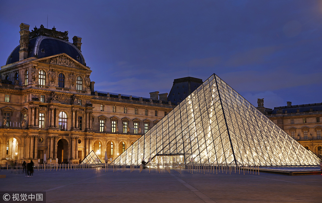 Louvre museum in Paris reopens after staff end coronavirus protest