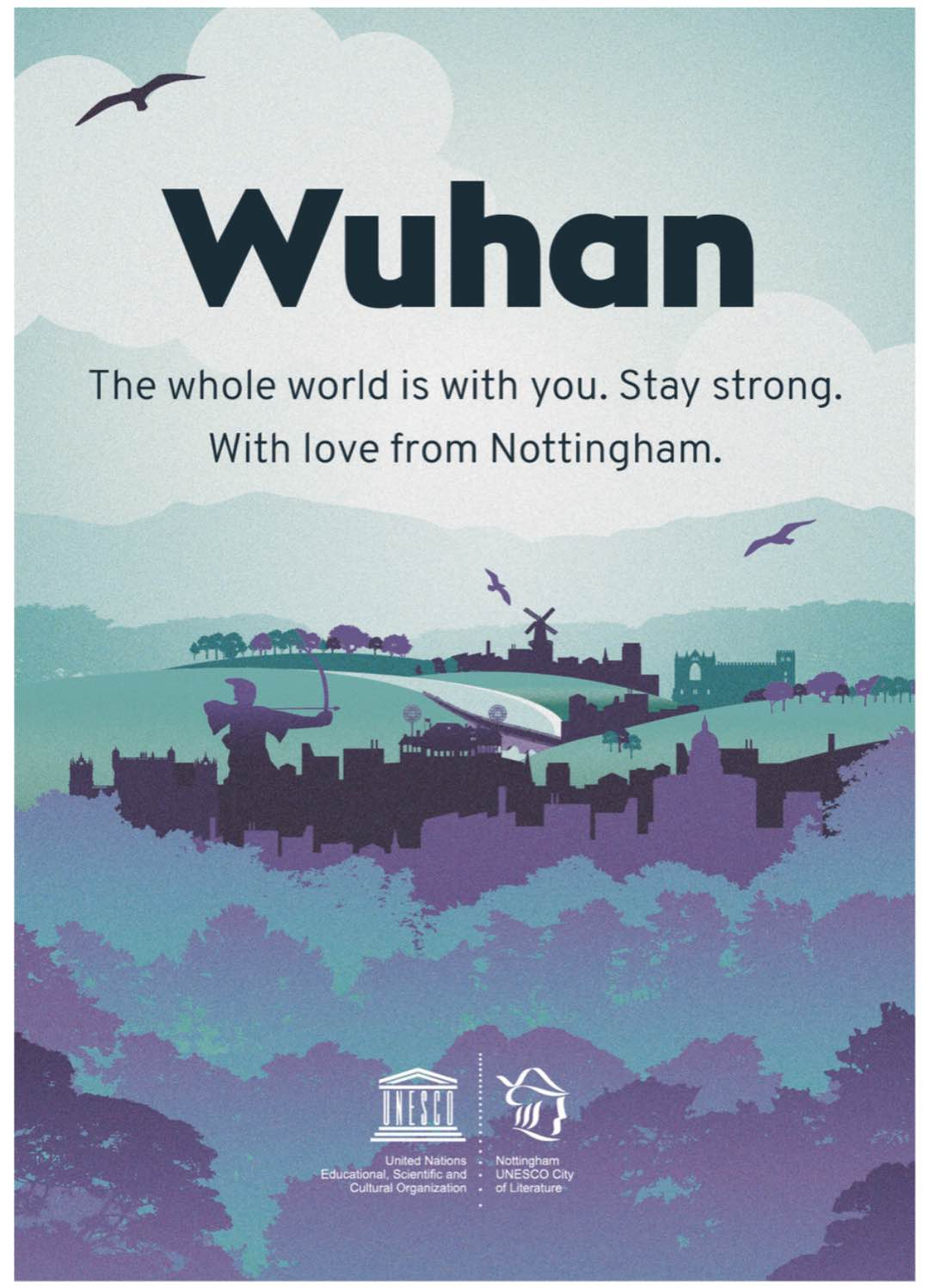 16 cities extend best wishes to Wuhan