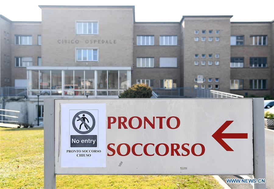 Italy confirms 2,263 coronavirus cases, plus 160 recoveries, 79 deaths
