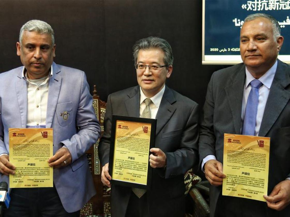 Egyptian experts laud China's efforts in fighting coronavirus