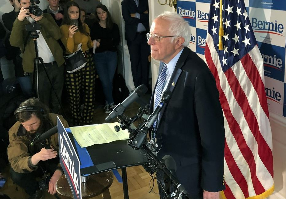 Sanders refocusing his campaign after Biden's super Tuesday