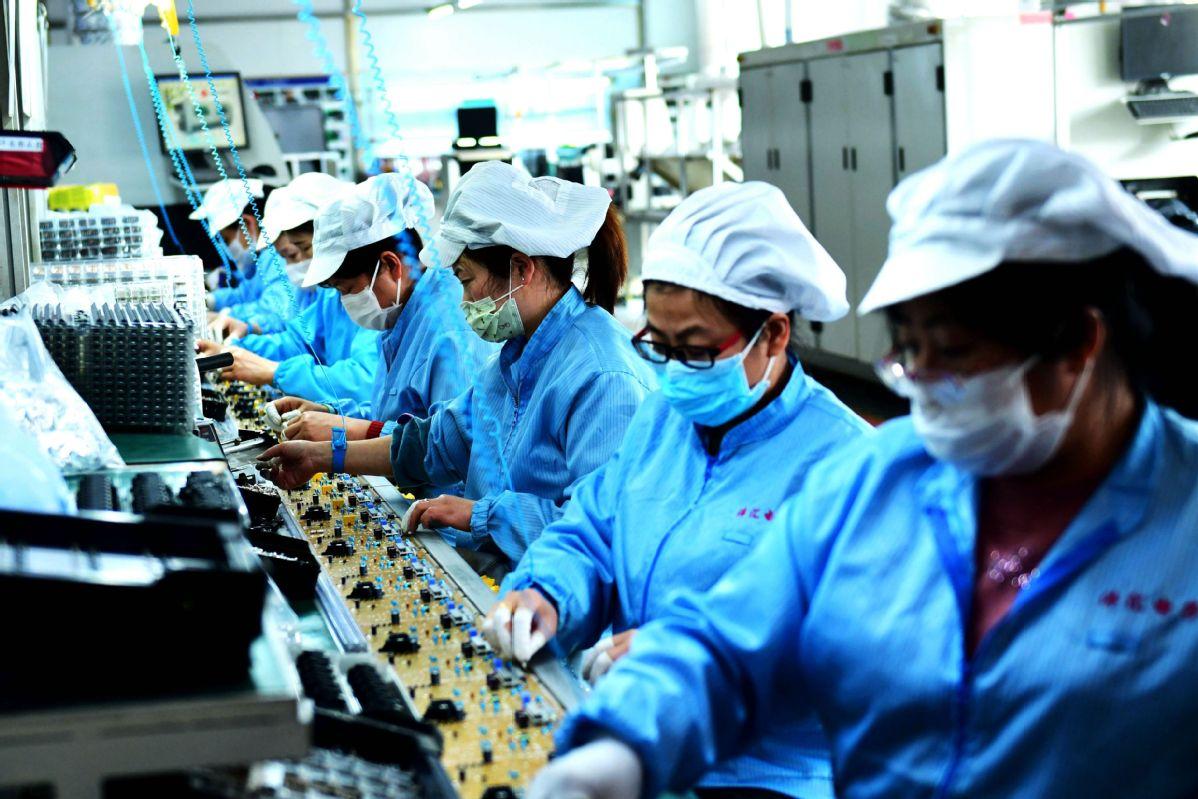 Enterprises restart operations as outbreak control continues