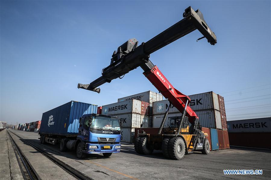 China-Europe freight trains resume regular operation in Liaoning