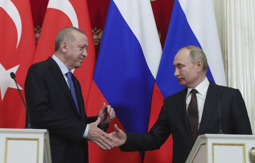 Russian-Turkish cease-fire goes into effect in Syria's Idlib