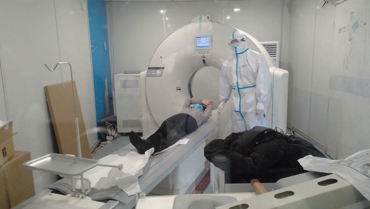 Medical imaging technicians brave risks of radiation and infection