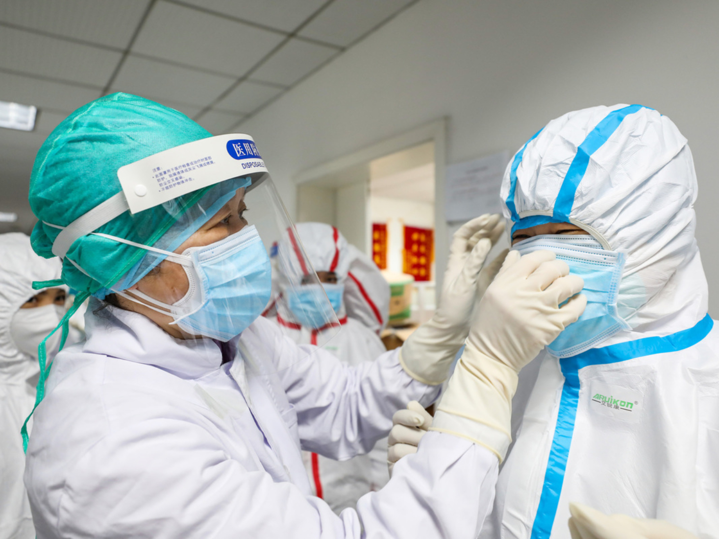 Nonlocal medical staff staying safe in Hubei
