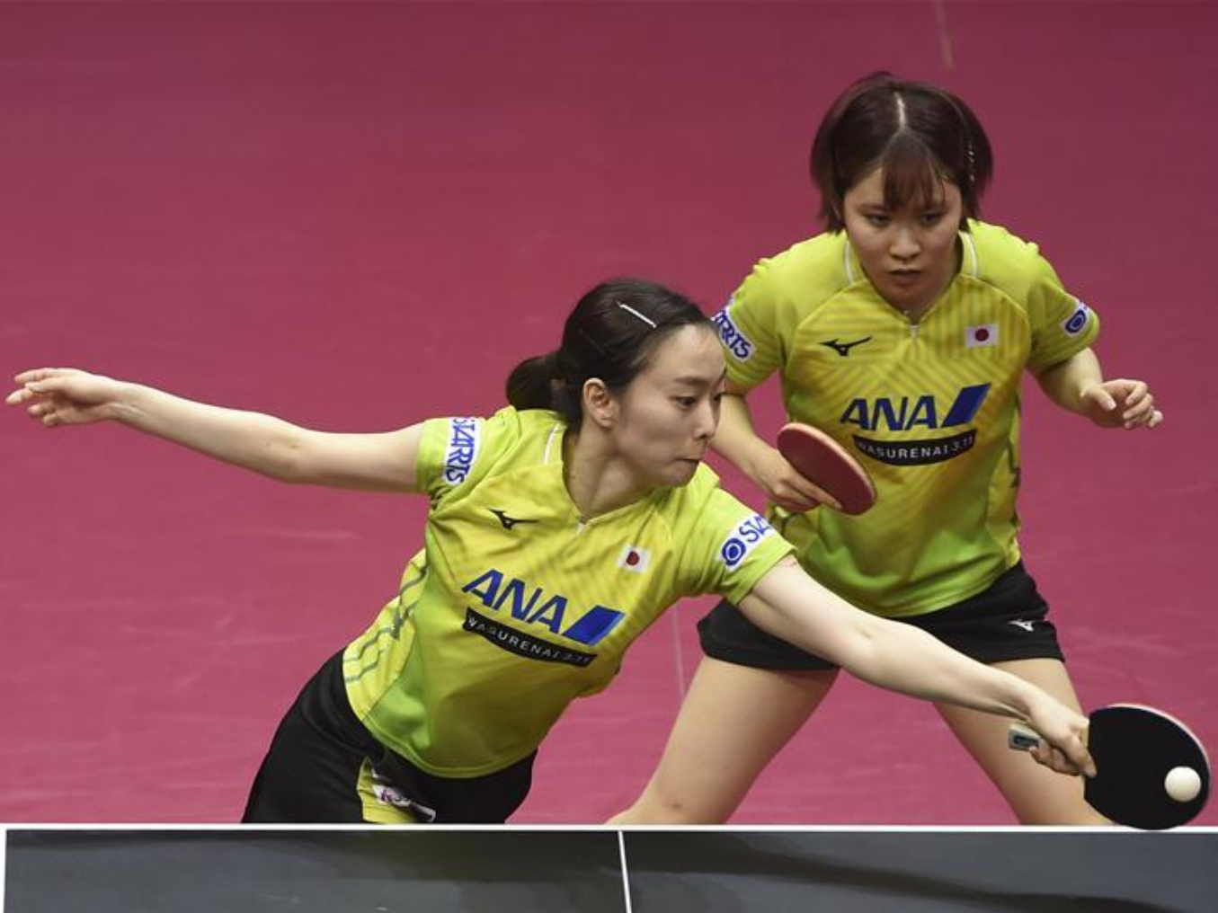 Highlights of doubles seimifinal matches at 2020 ITTF Qatar Open