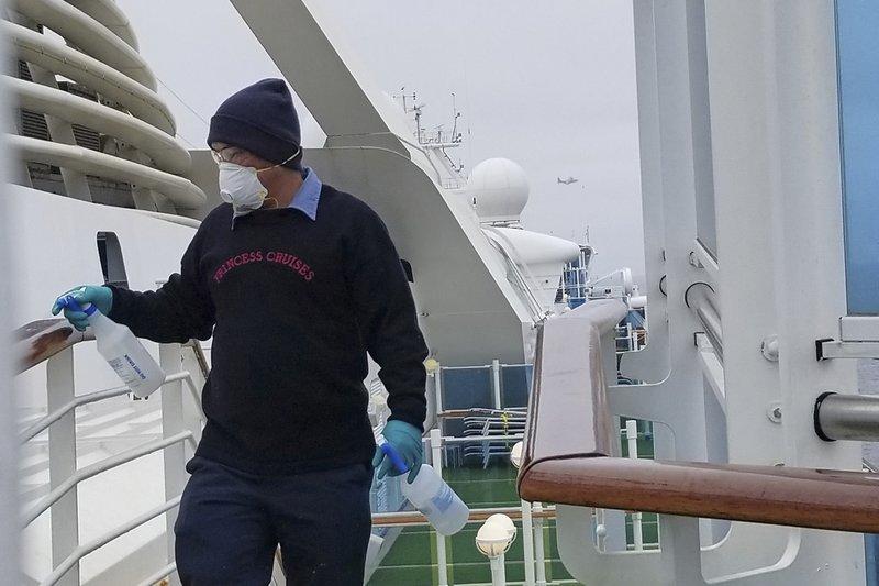 21 positive for coronavirus on cruise ship off California, 19 are crew members