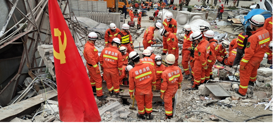 7 dead in E China hotel collapse